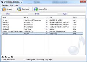 Enlarge ProFiler MP3i Screenshot