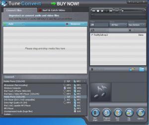 Enlarge TuneConvert Screenshot