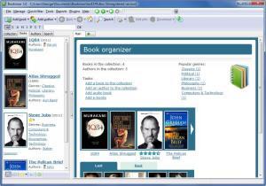 Enlarge Booknizer Screenshot