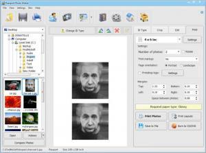 Enlarge Passport Photo Maker Screenshot