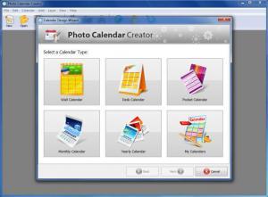 Enlarge Photo Calendar Creator Screenshot