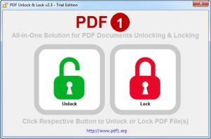 Enlarge PDF Unlock & Lock Screenshot