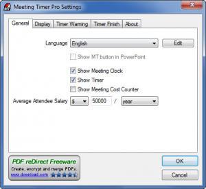Enlarge Meeting Timer Pro Screenshot