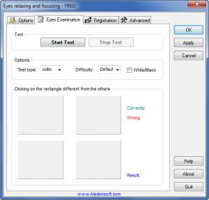 Enlarge Eyes Relaxing and Focusing Screenshot