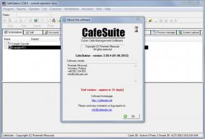 Enlarge CafeSuite Screenshot