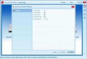 Enlarge Easy File Shredder Screenshot