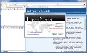 Enlarge HeroNote Screenshot