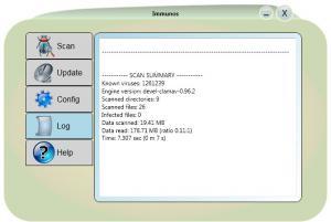 Enlarge Immunos Screenshot