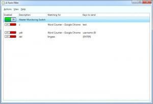 Enlarge A Form Filler Screenshot