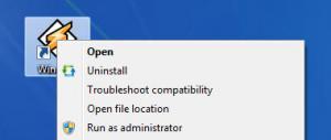 Enlarge Menu Uninstaller Pro Screenshot