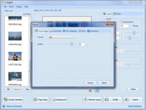 Enlarge CollageIt Screenshot
