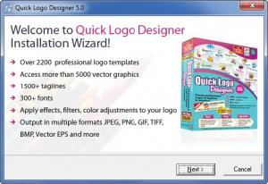 Enlarge Quick Logo Designer Screenshot