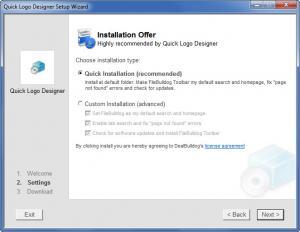 Enlarge Quick Logo Designer Screenshot