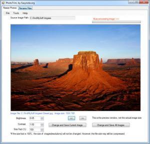 Enlarge PhotoTrim Screenshot