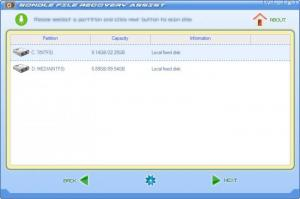 Enlarge File Recovery Assist Screenshot
