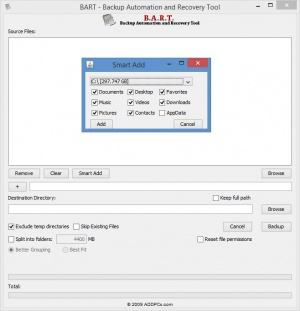 Enlarge B.A.R.T. Screenshot