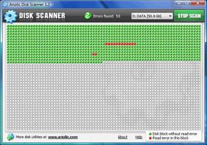 Enlarge Disk Scanner Screenshot