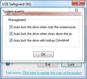 Enlarge USB Safeguard Free Screenshot