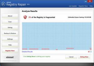 Enlarge Simnet Registry Repair Screenshot