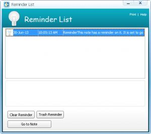 Enlarge Ifavor Notes Screenshot