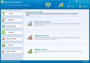 Enlarge USB Security Protection Screenshot