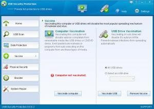 Enlarge USB Security Protection Screenshot
