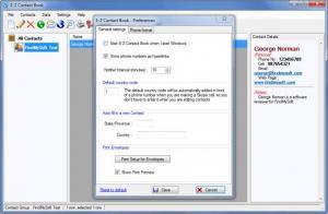 Enlarge E-Z Contact Book Screenshot