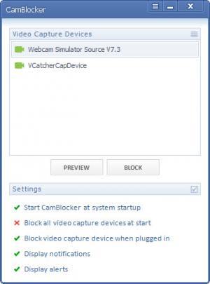 Enlarge Wolfcoders CamBlocker Screenshot