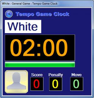 Enlarge Tempo Game Clock Screenshot