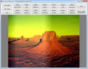 Enlarge Easy Photo Effects Screenshot