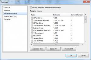 Enlarge AverZip Screenshot