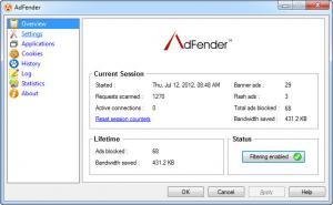 Enlarge AdFender Screenshot