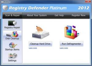 Enlarge Registry Defender Screenshot