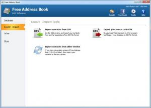 Enlarge Free Address Book Screenshot
