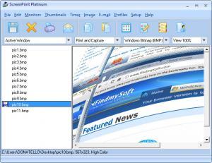 Enlarge ScreenPrint Platinum Screenshot