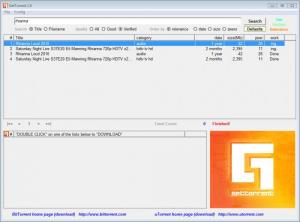 Enlarge GetTorrent Screenshot