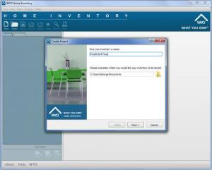 Enlarge WYO Home Inventory Screenshot