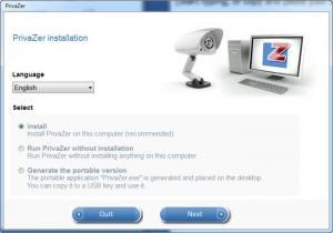 Enlarge PrivaZer Screenshot