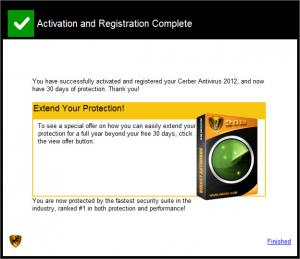 Enlarge Cerber Antivirus Screenshot