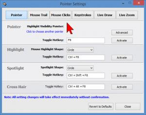 Enlarge Presentation Marker Screenshot