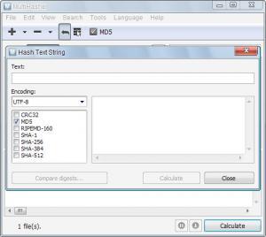 Enlarge MultiHasher Screenshot