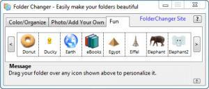 Enlarge Folder Changer Screenshot