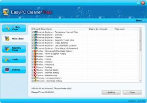 Enlarge EasyPC Cleaner Free Screenshot