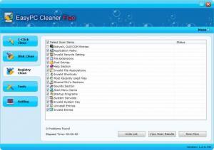 Enlarge EasyPC Cleaner Free Screenshot