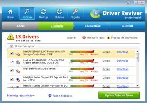 Enlarge Driver Reviver Screenshot