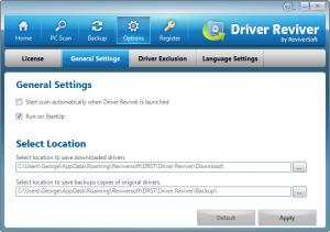 Enlarge Driver Reviver Screenshot