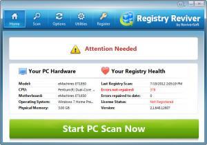Enlarge Registry Reviver Screenshot