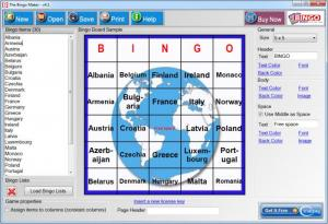 Enlarge The Bingo Maker Screenshot