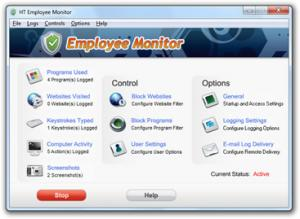 Enlarge HT Employee Monitor Screenshot