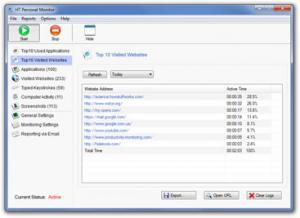 Enlarge HT Personal Monitor Screenshot